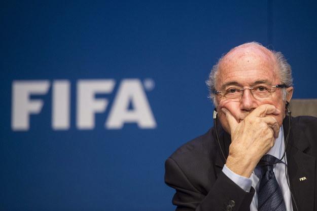 Szef FIFA Sepp Blatter /ENNIO LEANZA /PAP/EPA