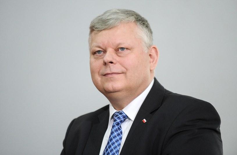 Szef gabinetu politycznego premiera Marek Suski /Bartosz Krupa /East News