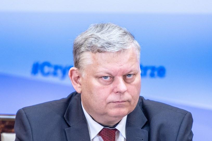Szef gabinetu politycznego premiera Marek Suski /Grzegorz Banaszak/REPORTER /Reporter