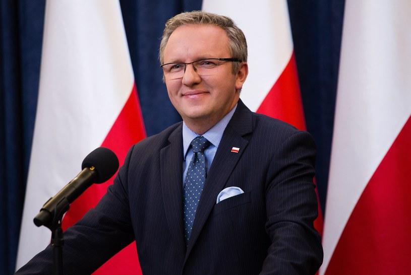 Szef gabinetu prezydenta Andrzeja Dudy Krzysztof Szczerski /Krystian Dobuszyński /Reporter