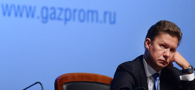 Szef Gazpromu A.Miller /AFP