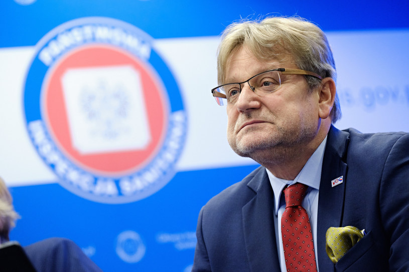 Szef GIS Jarosław Pinkas /Bartosz Krupa /East News
