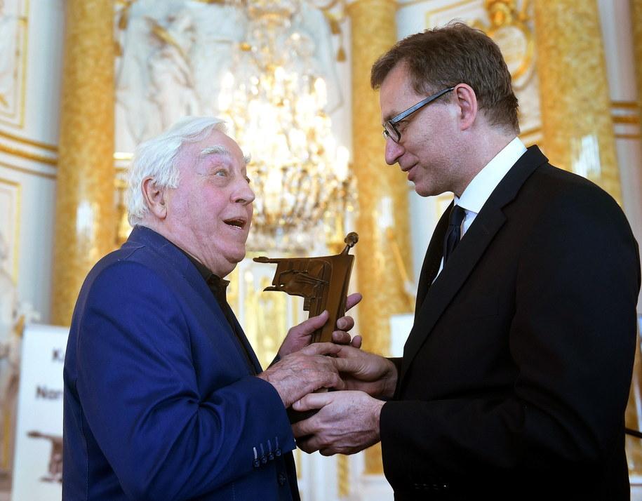 Szef IPN Jarosław Szarek i Janusz Wasylkowski /PAP/Radek Pietruszka    /PAP