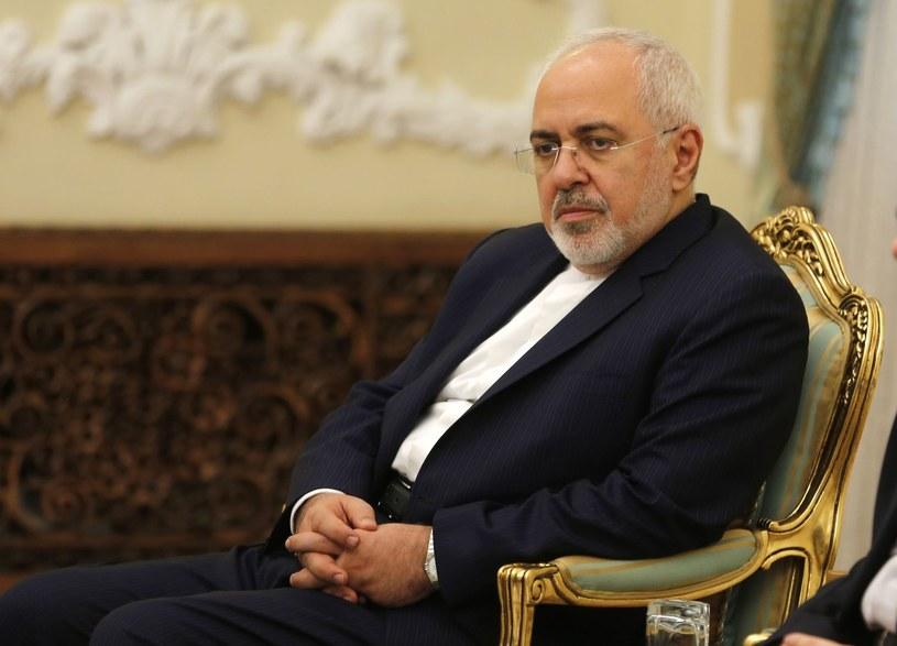 Szef irańskiej dyplomacji Mohammad Dżawad Zarif /AFP