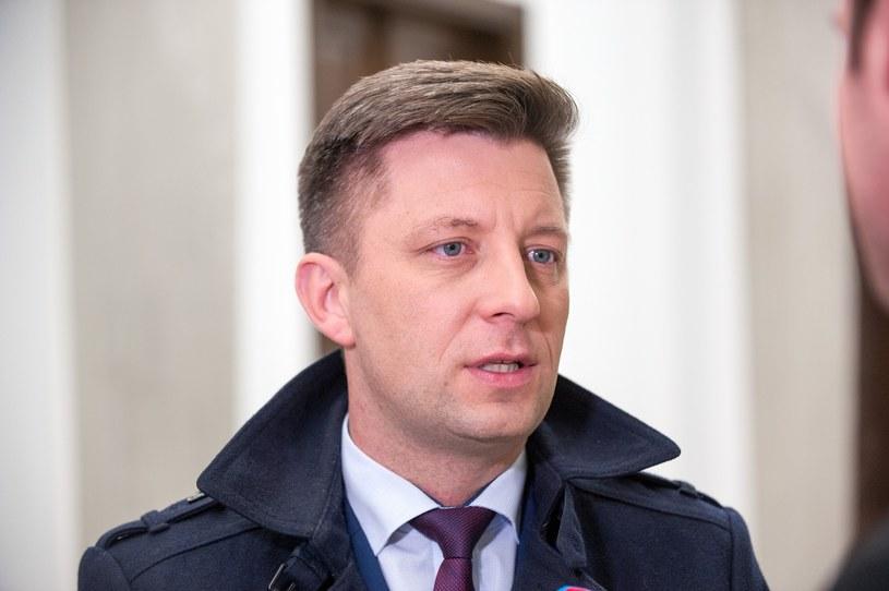 Szef kancelarii premiera Michał Dworczyk /Grzegorz Krzyzewski /Reporter