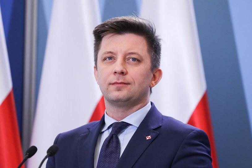 Szef Kancelarii Premiera Michał Dworczyk /Aleksandra Szmigiel /Reporter