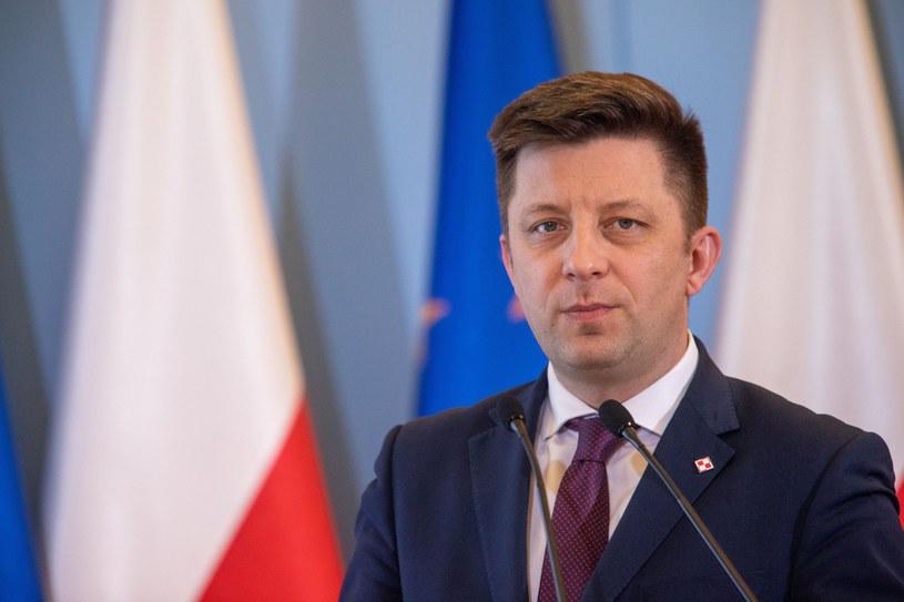 Szef kancelarii premiera Michał Dworczyk /Grzegorz Banaszak /Reporter