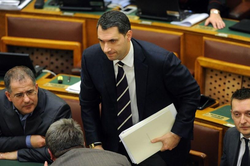 Szef kancelarii premiera Węgier Janos Lazar /AFP