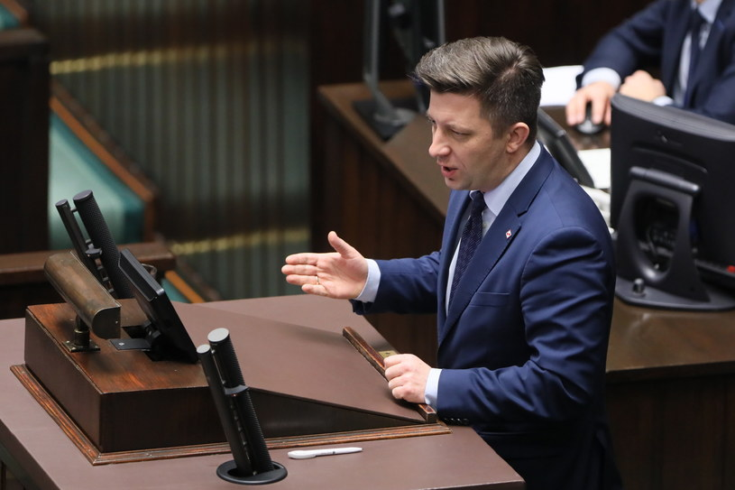 Szef kancelarii prezesa rady ministrów Michał Dworczyk /Paweł Supernak /PAP