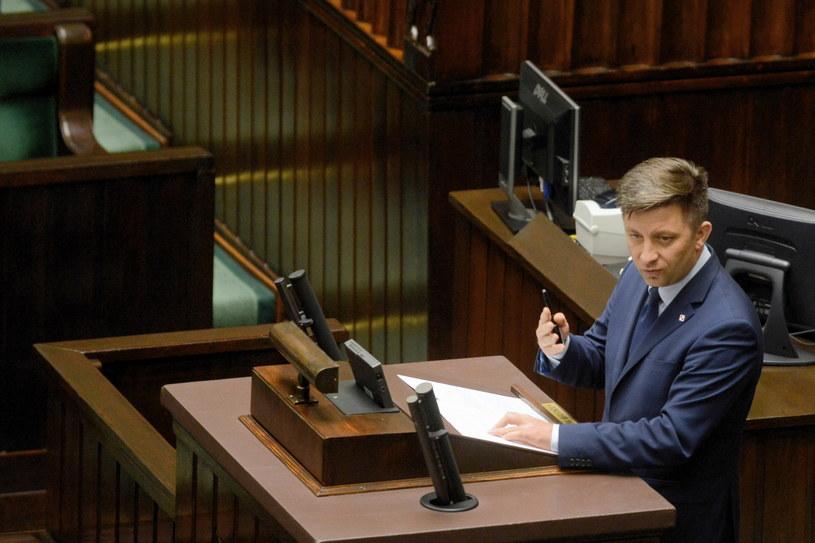Szef Kancelarii Prezesa Rady Ministrów Michał Dworczyk / Jakub Kamiński    /PAP