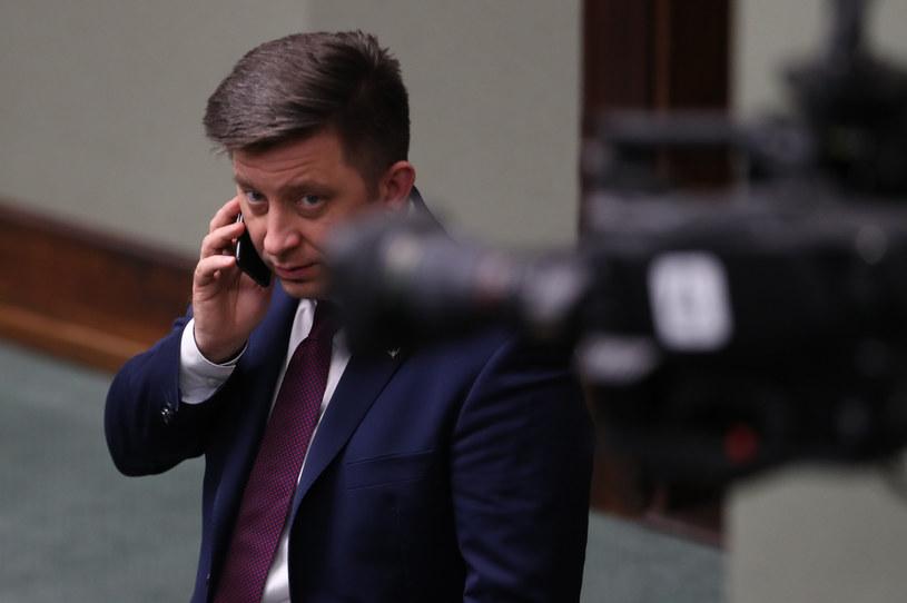 Szef Kancelarii Prezesa Rady Ministrów Michał Dworczyk /fot. Andrzej Iwanczuk /Reporter