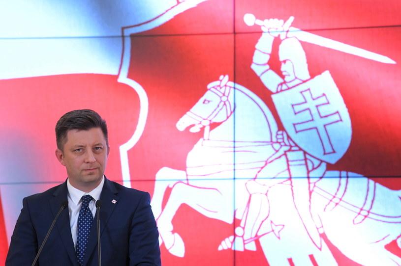 Szef Kancelarii Prezesa Rady Ministrów Michał Dworczyk / Radek Pietruszka   /PAP
