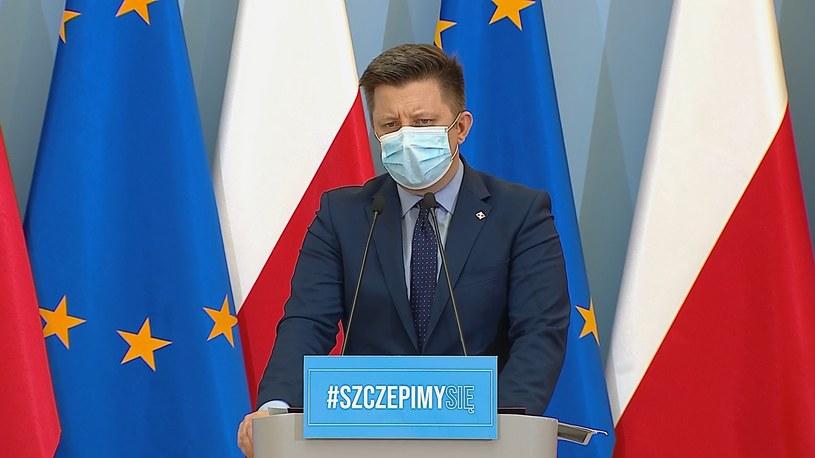 Szef Kancelarii Prezesa Rady Ministrów Michał Dworczyk /Polsatnews.pl