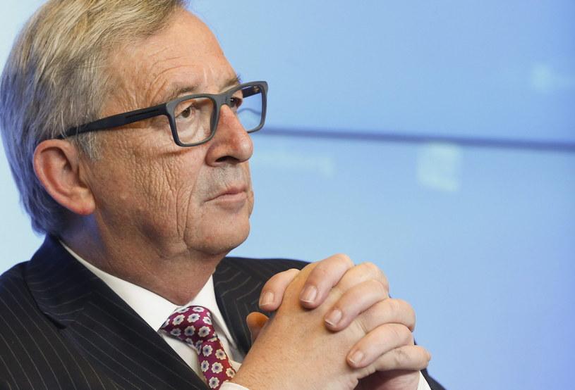 Szef KE Jean-Claude Juncker /PAP/EPA
