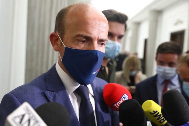 Szef klubu KO Borys Budka /Tomasz Gzell /PAP