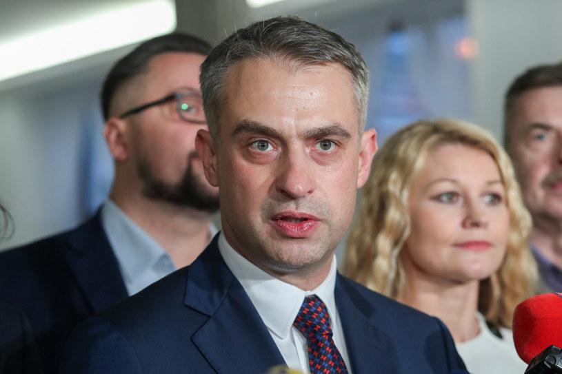 Szef klubu Lewicy Krzysztof Gawkowski /Andrzej Iwańczuk/Reporter /East News