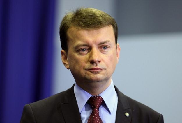 Szef klubu PiS Mariusz Błaszczak, fot. Stanisław Kowalczuk /Agencja SE/East News