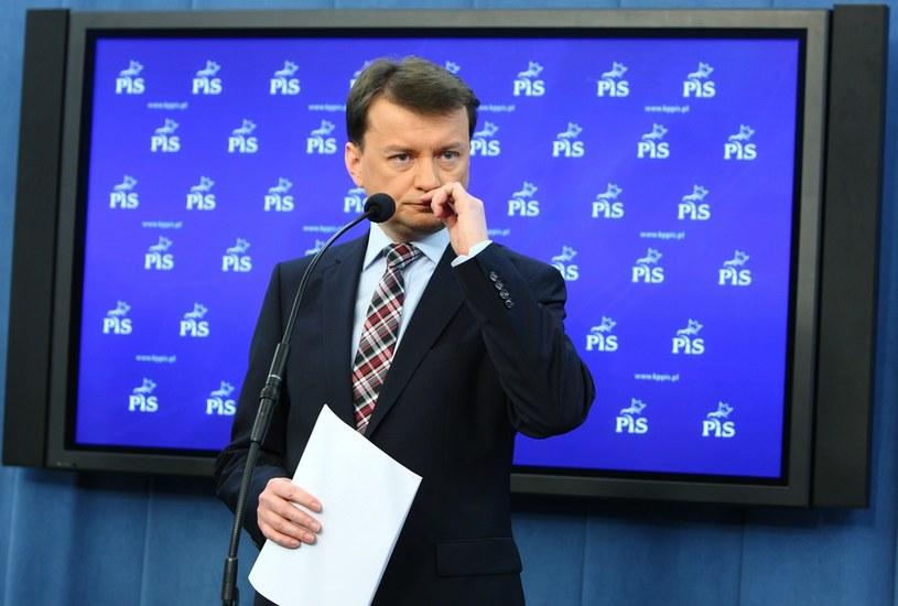 Szef klubu PiS Mariusz Błaszczak /S. Kowalczuk /East News