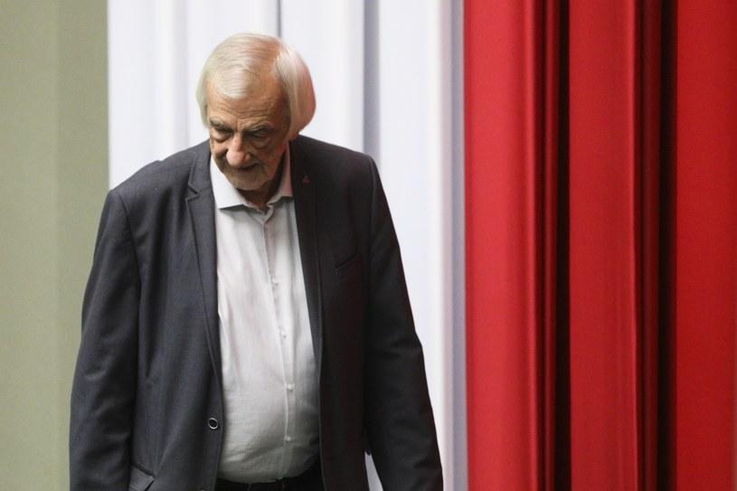 Szef klubu PiS Ryszard Terlecki /Andrzej Hulimka  /Agencja FORUM