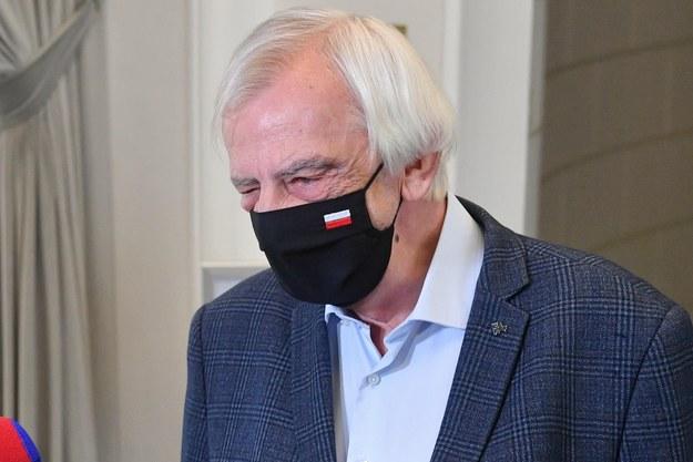 Szef klubu PiS Ryszard Terlecki /Radek  Pietruszka /PAP