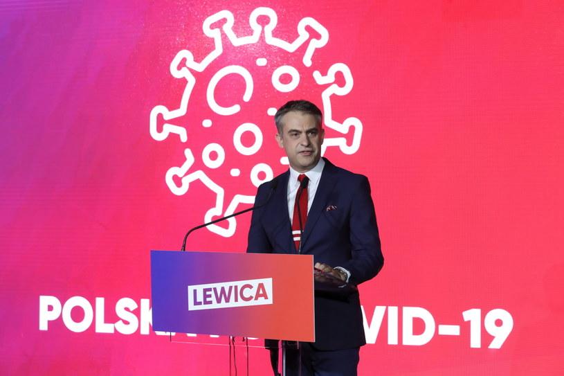 Szef Koalicyjnego Klubu Parlamentarnego Lewicy Krzysztof Gawkowski