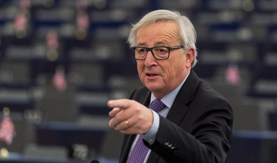 Szef Komisji Europejskiej Jean-Claude Juncker /Patrick Seeger  /PAP/EPA