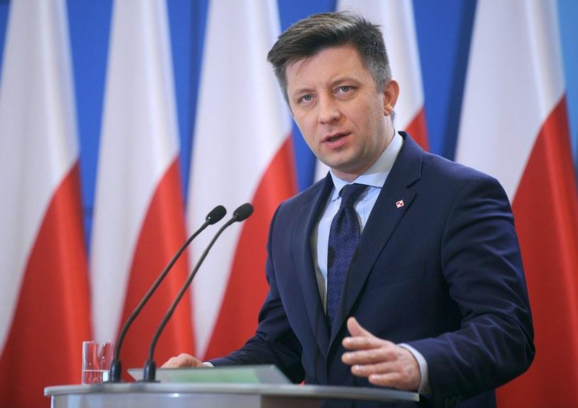 Szef KPRM Michał Dworczyk /Adam Chełstowski /Agencja FORUM