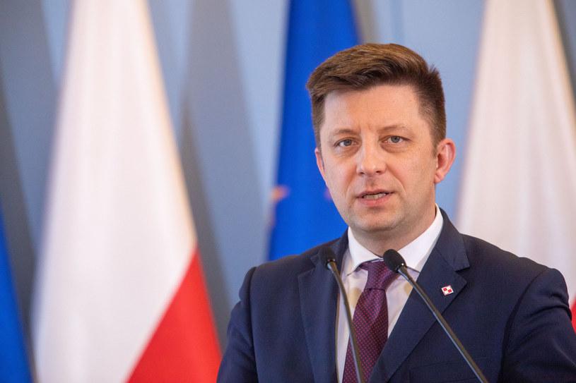 Szef KPRM Michał Dworczyk /Grzegorz Banaszak /Reporter