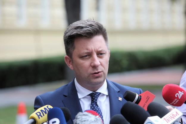 Szef KPRM Michał Dworczyk /Wojciech Olkuśnik /PAP