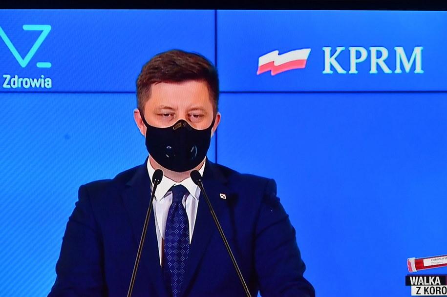 Szef KPRM Michał Dworczyk /Piotr Nowak /PAP