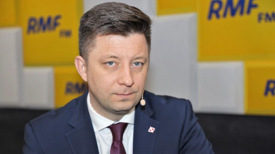 Szef KPRM MIchał Dworczyk /Archiwum RMF FM