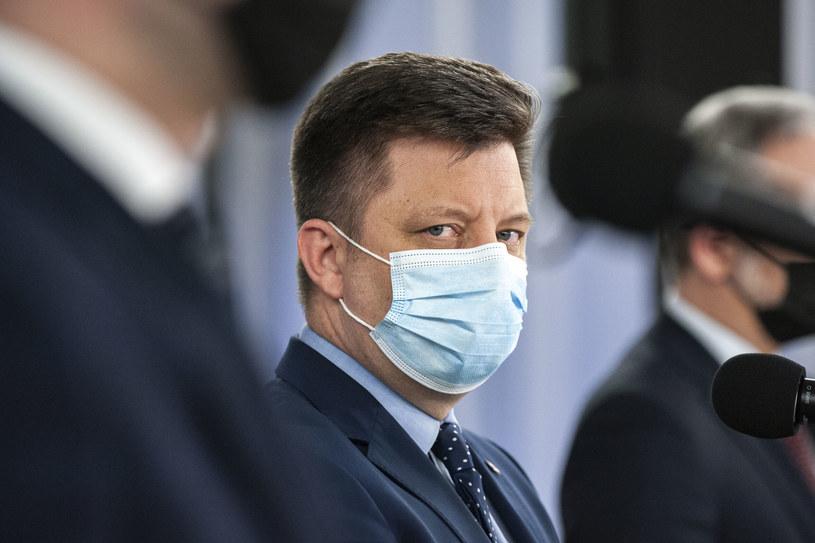 Szef KPRM Michał Dworczyk /Grzegorz Krzyzewski /Agencja FORUM