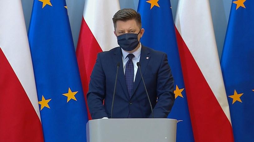 Szef KPRM Michał Dworczyk /Polsat News /materiały prasowe