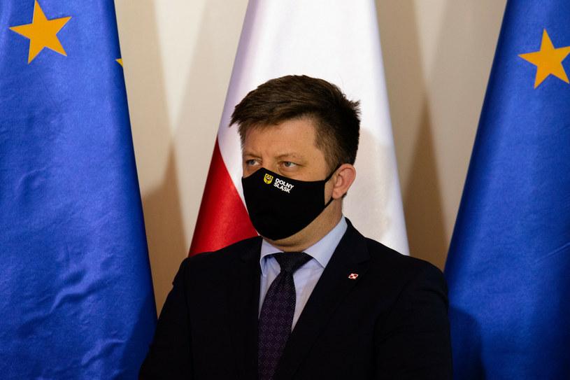 Szef KPRM Michał Dworczyk /Lidia Mukhamadeeva /Reporter
