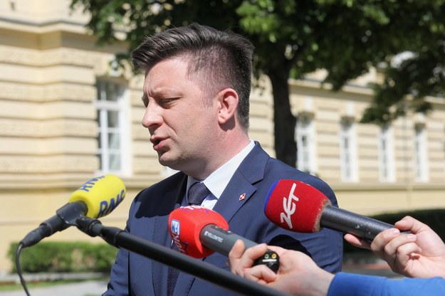 Szef KPRM Michał Dworczyk /Paweł Supernak /PAP