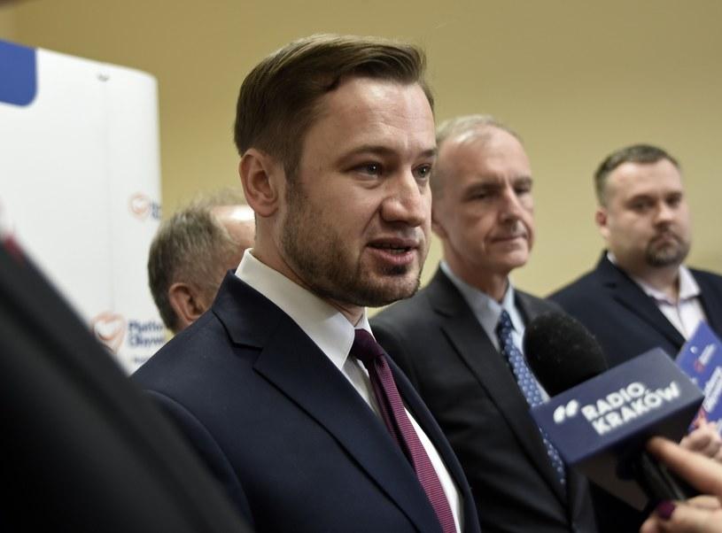 Szef małopolskiej PO Aleksander Miszalski /M. Lasyk /Reporter