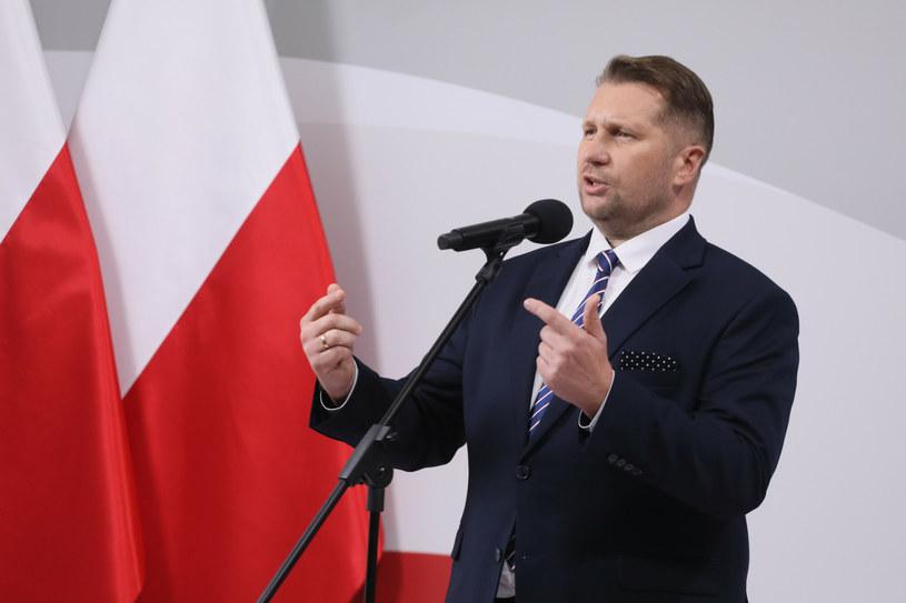 Szef MEiN Przemysław Czarnek /Pawel Wodzynski /East News