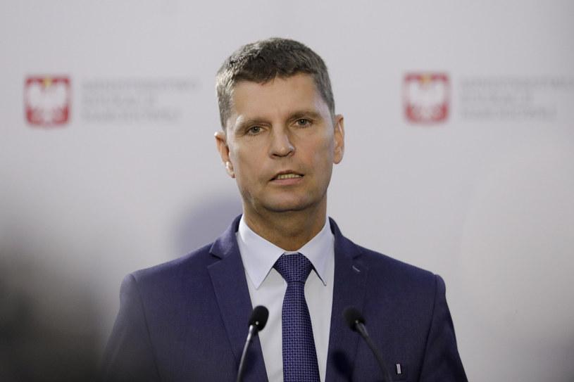 Szef MEN Dariusz Piontkowski /Grzegorz Banaszak /Reporter
