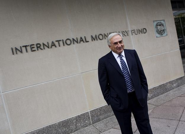 Szef MFW Dominique Strauss-Kahn /AFP