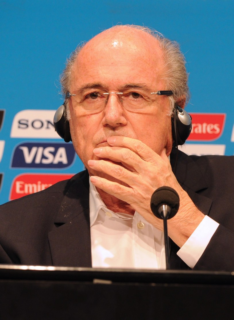 Szef Międzynarodowej Federacji Piłki Nożnej (FIFA) Sepp Blatter /AFP