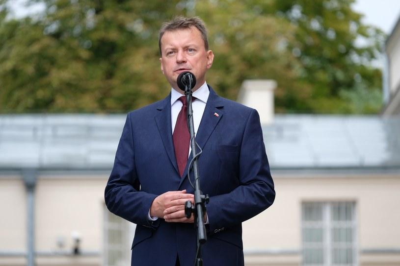 Szef Ministerstwa Obrony Narodowej Mariusz Błaszczak /Mateusz Grochocki /East News