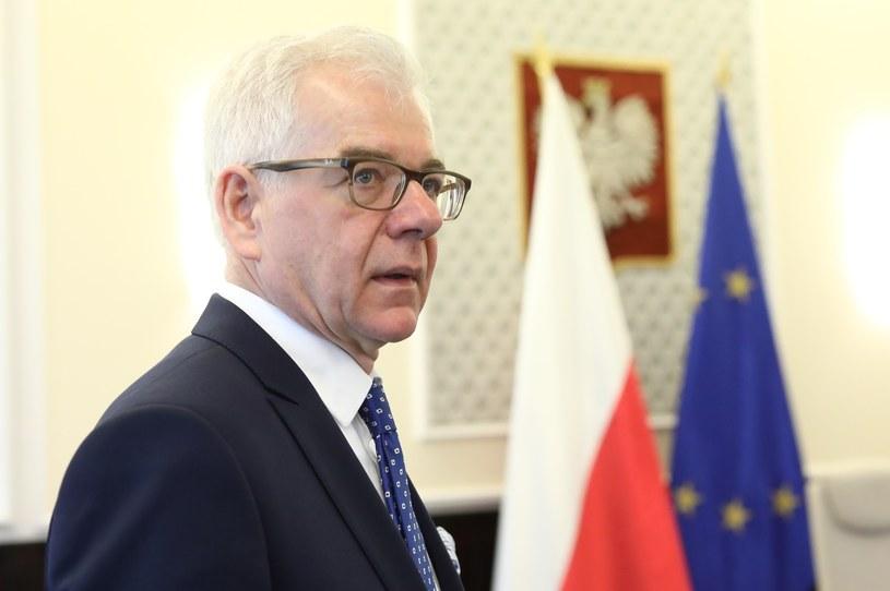 Szef Ministerstwa Spraw Zagranicznych Jacek Czaputowicz /Stanisław Kowalczuk /East News