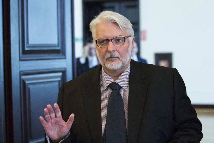 Szef Ministerstwa Spraw Zagranicznych Witold Waszczykowski /Andrzej Hulimka  /East News