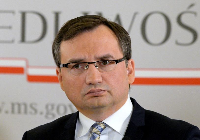 Szef Ministerstwa Sprawiedlwiości Zbigniew Ziobro /Jan Bielecki /East News