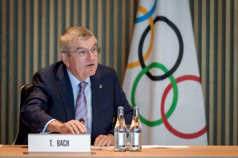 Szef MKOl Thomas Bach /AFP