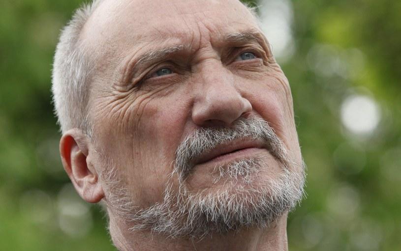 Szef MON Antoni Macierewicz /Stefan Maszewski /Reporter