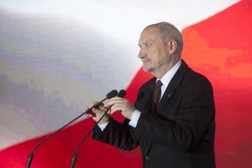 Szef MON Antoni Macierewicz /Wojciech Stróżyk /PAP