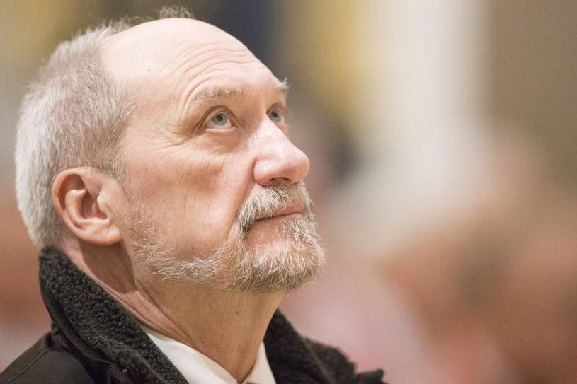 Szef MON Antoni Macierewicz /Maciej Luczniewski /Reporter