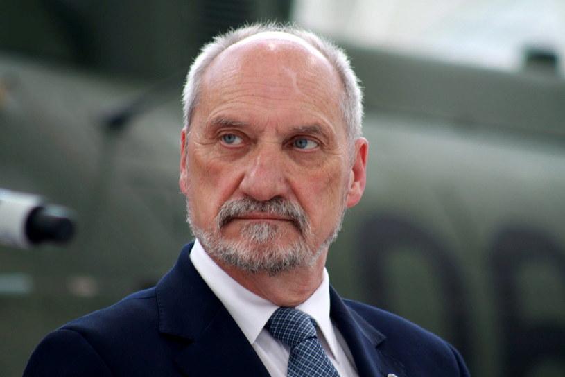 Szef MON Antoni Macierewicz /Małgorzata Genca /East News