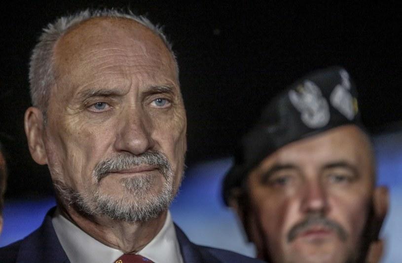 Szef MON Antoni Macierewicz /Fot. Karolina Misztal /Reporter